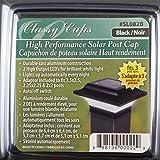Classy Caps SL082B 2.5X2.5 Black Aluminum Imperial