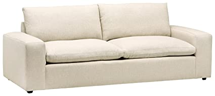 Stone U0026 Beam Hoffman Down Filled Performance Sofa, 97u0026quot; ...