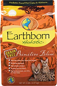 Earthborn Holistic Primitive Feline Natural Grain-Free Dry Cat Food