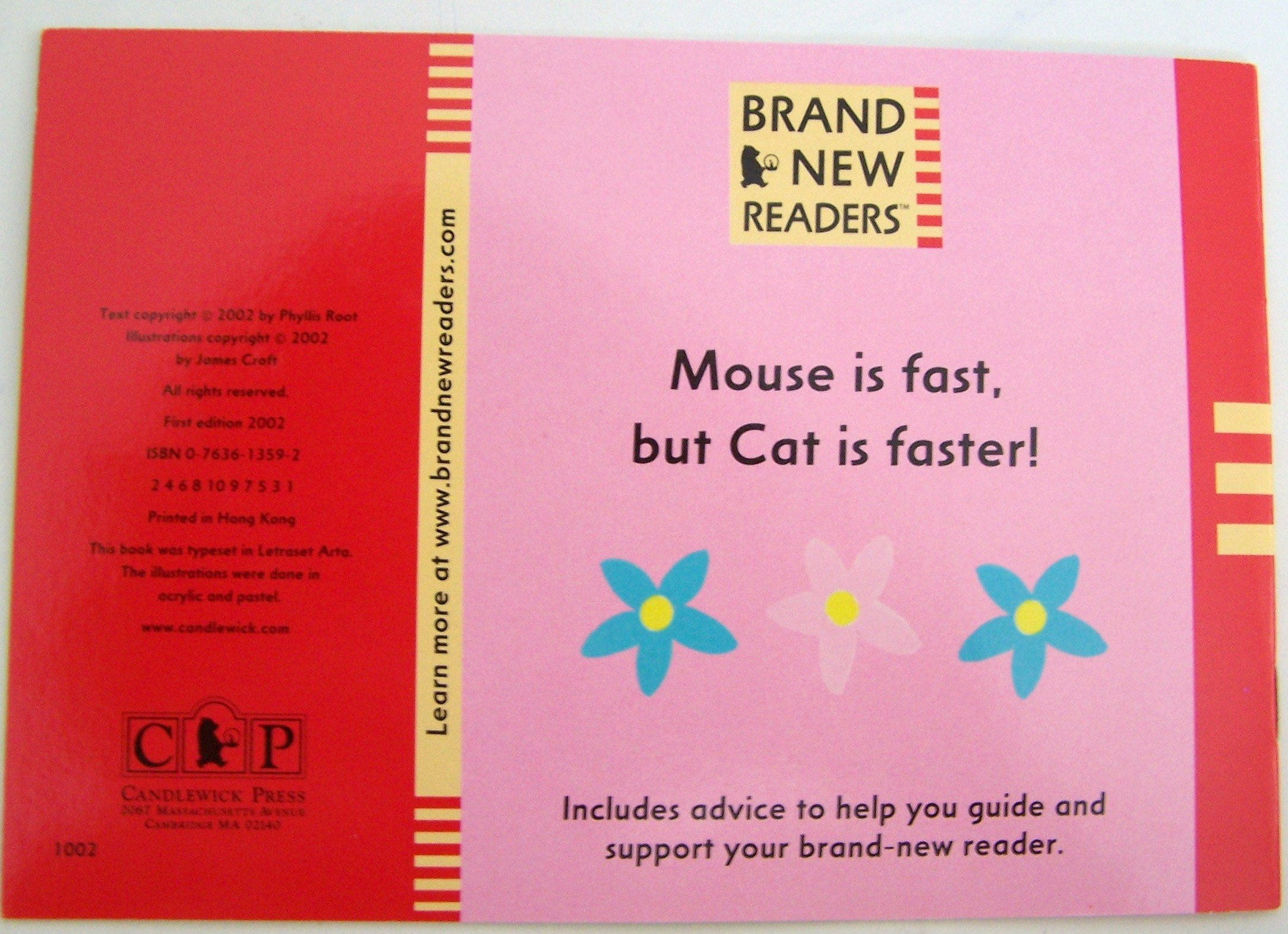 Cat and Mouse (Brand New Readers): Phyllis Root: 9780763613594: Amazon.com:  Books