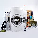 Goose Island Beer Brewing Equipment Starter Kit - 5 Gallon - Brew Share Enjoy Brewery Edition Goose Island Sweet Porter Recipe - Includes Brew Kettle