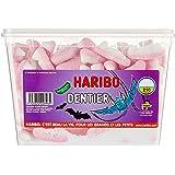 Boîte bonbons dents vampire Haribo 1 kg Halloween