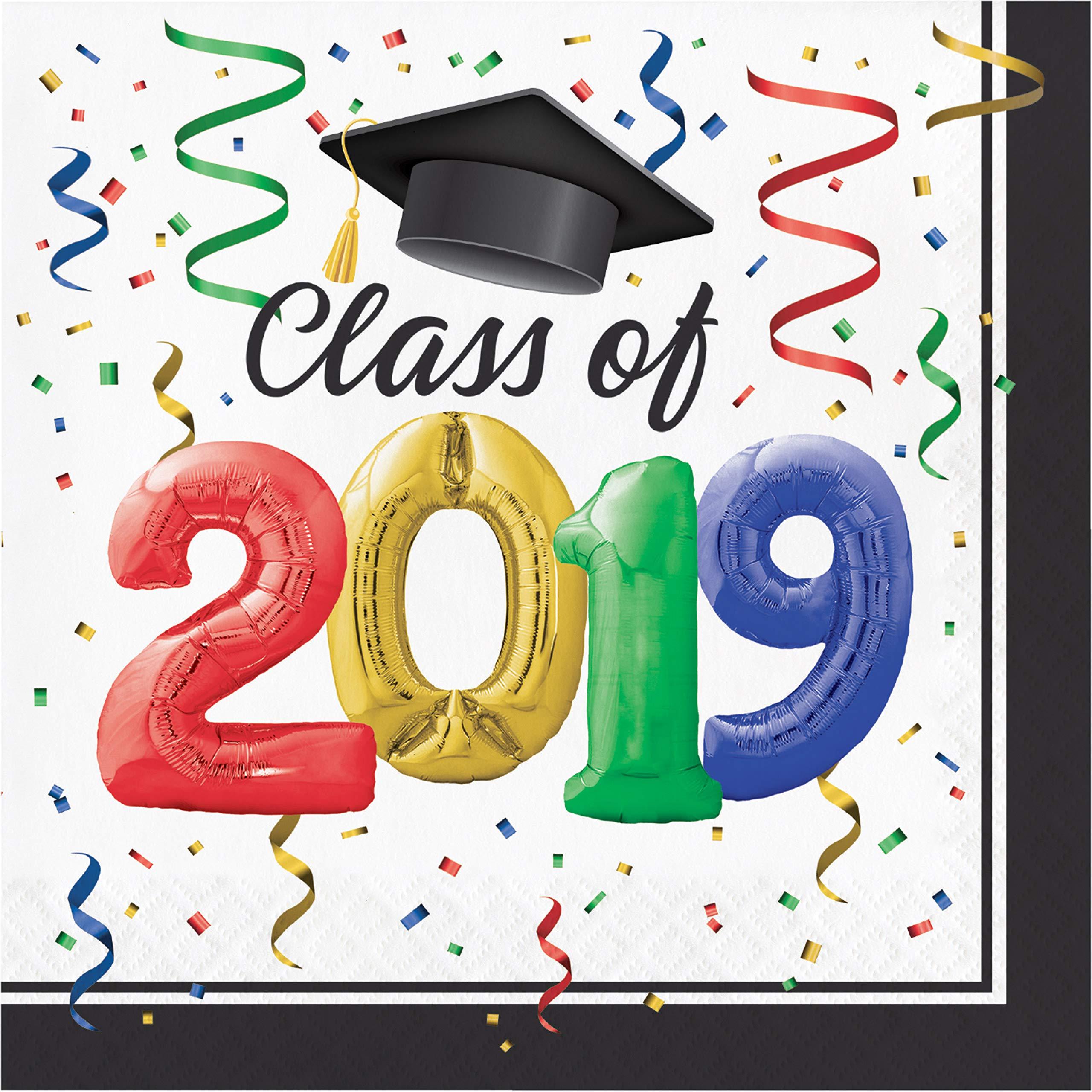 #1 Grad Bulk Napkins 2019, 108 ct