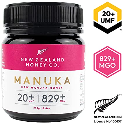 Nueva Zelanda Honey Co. Miel de Manuka cruda UMF 20+ / MGO ...