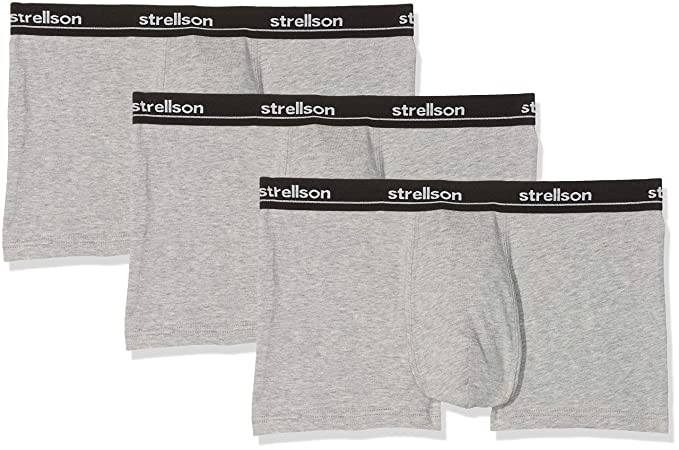 be1a709912a4 Strellson Herren Hipster Set Shorts, 3er Pack: Amazon.de: Bekleidung