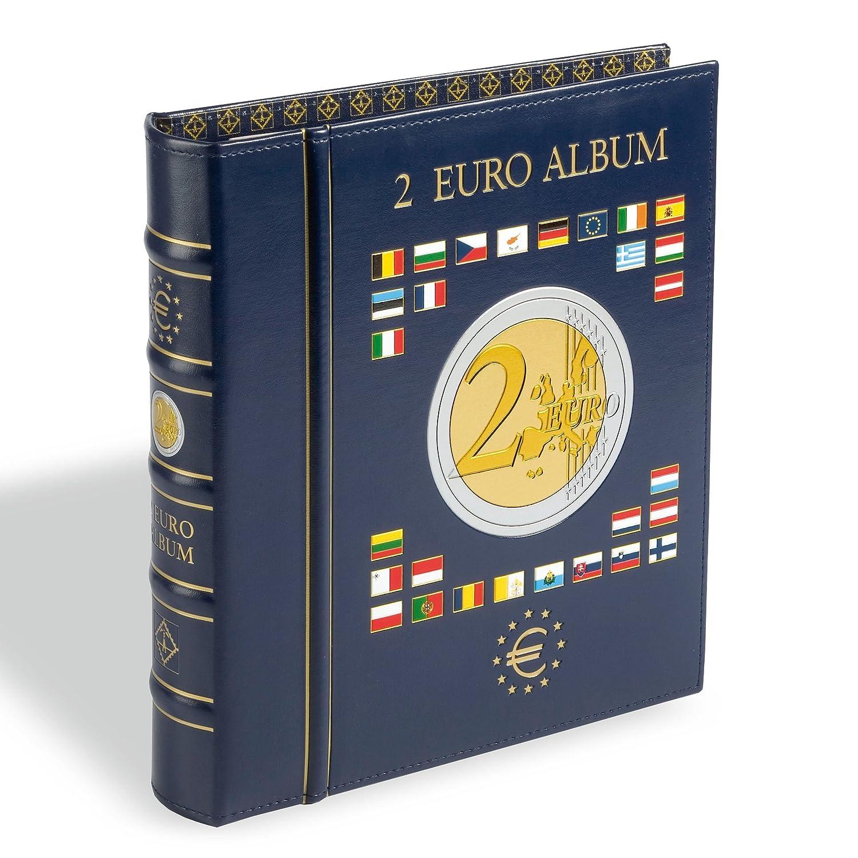 Leuchtturm 341017 Vista Münzalbum Für 80 Einzelne 2 Euro Münzen