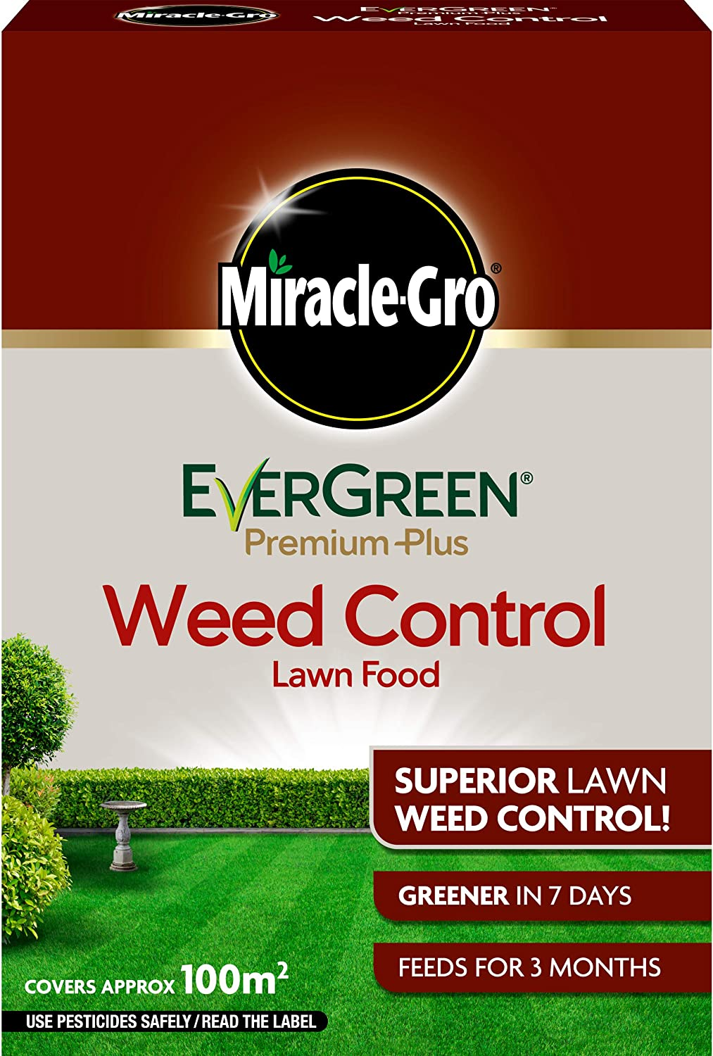 Miracle-Gro EverGreen - Fermenta para césped