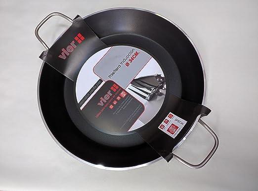 Sartén para Paella de cuatro para cocina de inducción ...