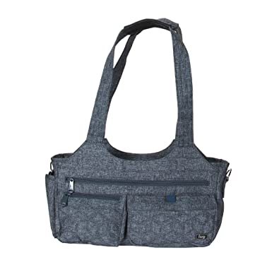 f02a5df94 Amazon.com | Lug Women's Streeetcar Short Tote Cross Body Bag Heather Navy  One Size | Carry-Ons