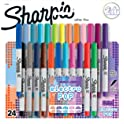 Sharpie 24-Pack Ultra-Fine Point Permanent Marker