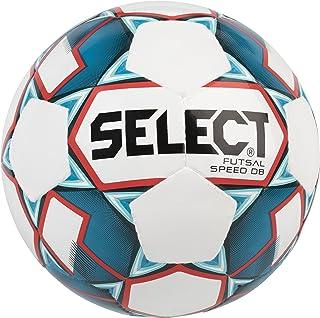 Select Speed Ballon de Futsal Adulte Unisexe, White/Blue, Official Size