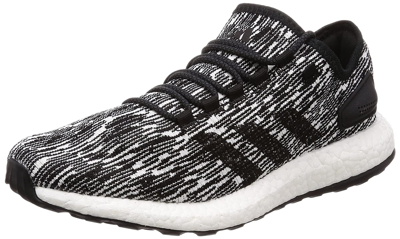 Adidas Pureboost, Zapatillas de Deporte para Hombre 43 1/3 EU Negro (Negbás/Ftwbla/Ftwbla 000)