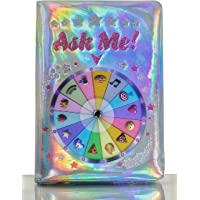 Busy kid Diary for Girls Magic Journal Lucky Wheel Glitter Holographic Notebook for Fun and Predictions