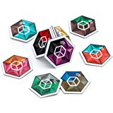 Crystal Cube NFC Tags ⬡ HIGH Capacity Topaz 512 CHIP ⬡ 9 Stunning Dual Color Themes for Better Recognition ⬡ Our Tags Work On Metal ⬡ We Provide Supreme NFC Tags Experience