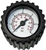 SOLO 49356Manómetro con Piezas de conexión para jeringuillas, Negro, 21x 11x 5cm
