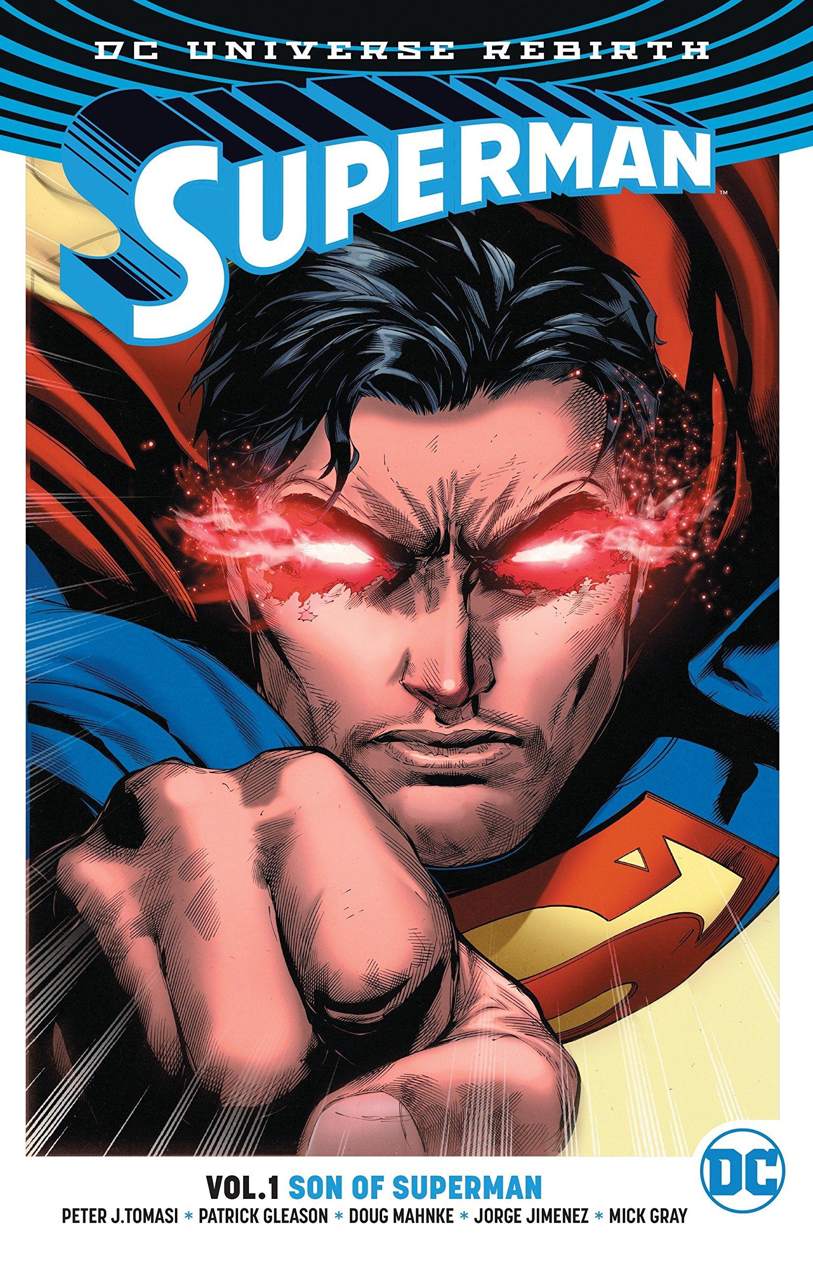 amazon com superman vol 1 son of superman rebirth