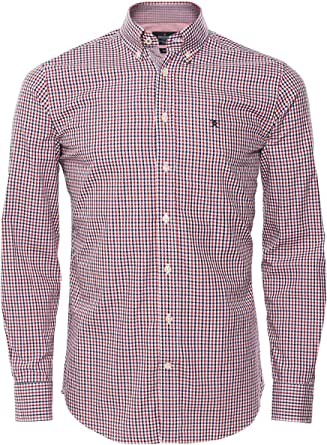 Hackett London Tone Colour Chk Camisa para Hombre