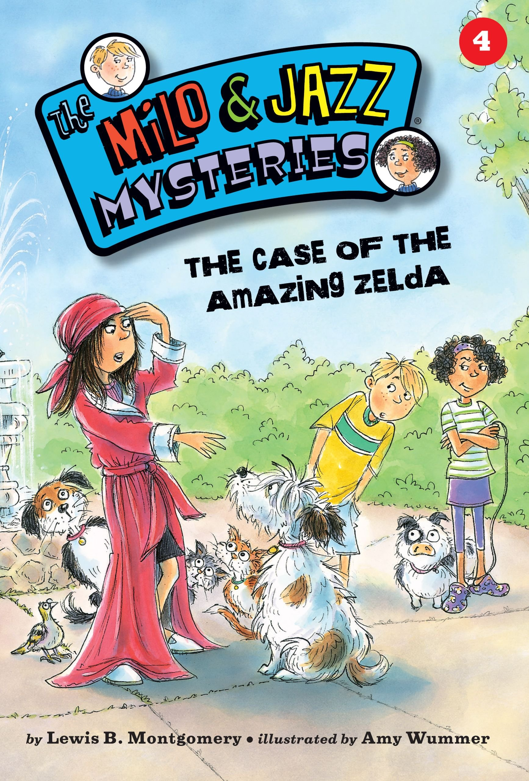 The Case of the Amazing Zelda (Book 4) (Milo and Jazz Mysteries) PDF