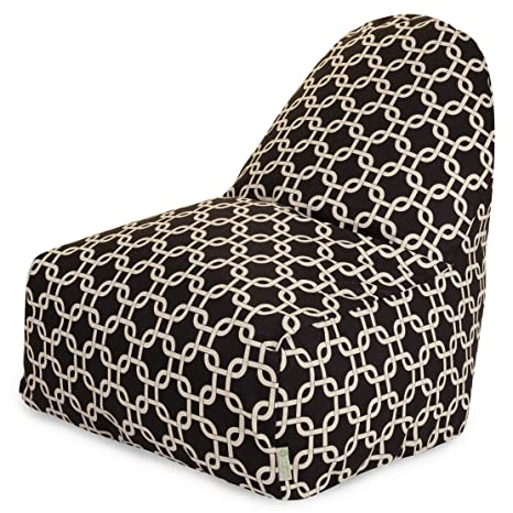 Amazon.com: Majestic Home Goods KICK-IT silla, enlaces ...