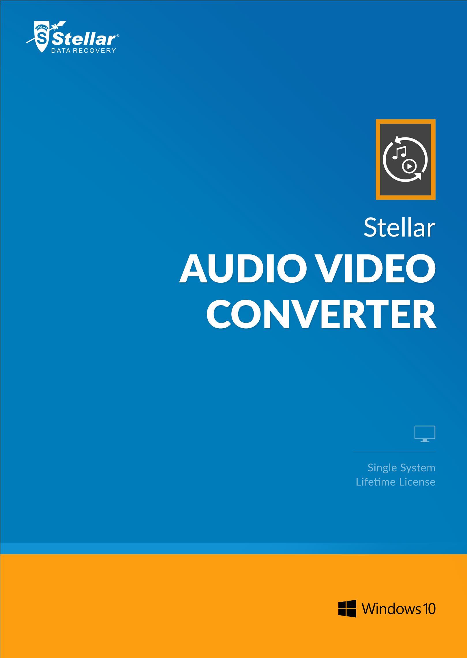 Wmv Conversion Software (Stellar Audio Video Converter Software [Download])