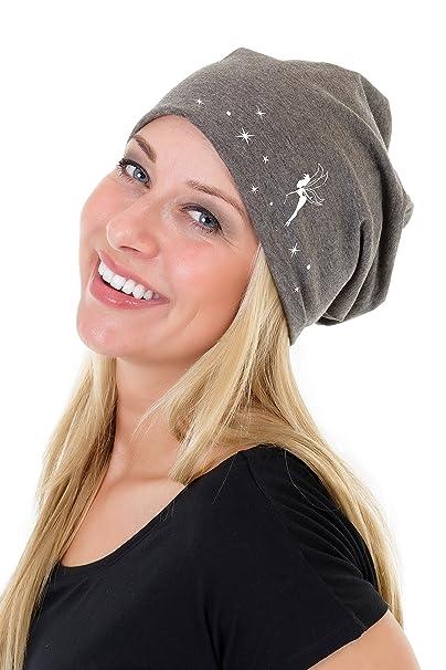 3Elfen Cappello Maglia Beanie Jersey - Berretti a Maglia fata de Donna  bambina - grigio  Amazon.it  Abbigliamento 750a5032199d