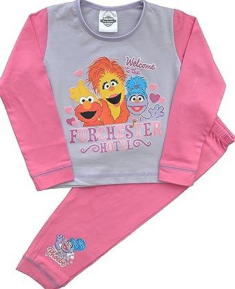 1e9b382f493a Girls Cbeebies Furchester Hotel Pink Pyjamas Size 4-5 Years  Amazon ...