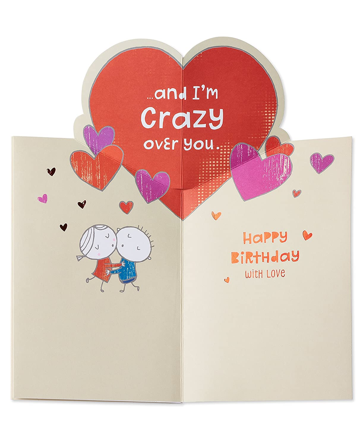 Amazon American Greetings Crazy Life Birthday Card For Husband