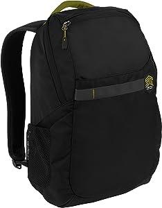 """STM Saga Backpack for Laptop, 15"""" - Black (stm-111-170P-01)"""