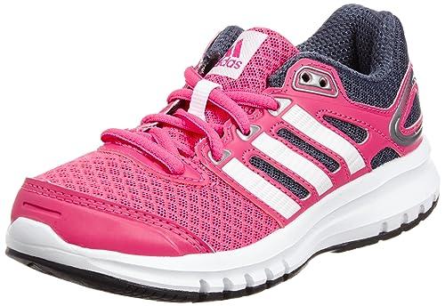 online retailer e0f3f 76661 adidas Duramo 6 K, Chaussures de running fille, Rose (Solar PinkCore