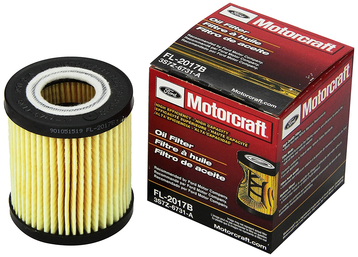 Motorcraft Fl2017b Oil Filter Automotive 2007 Ford F350 6 0 Sel Fuel