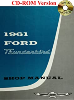 1961 Ford Thunderbird Shop Manual