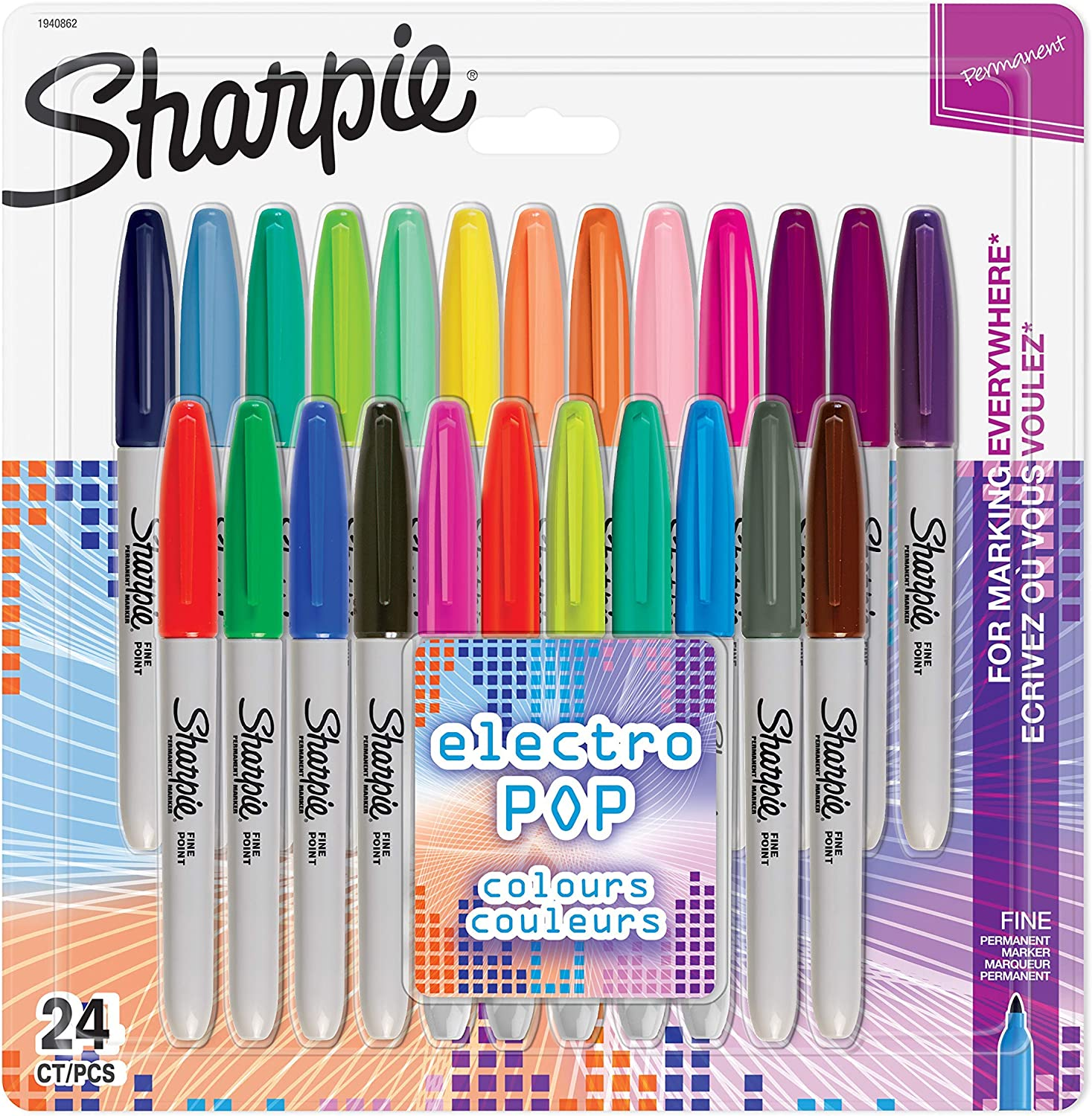 LIMITED EDITION SHARPIE SET 25 PENS BRAND NEW SET