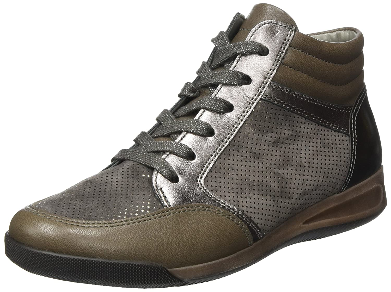 Ara ROM-Stf 12-44465, Zapatillas Altas para Mujer 40 EU|Gris (Street,titan 09)