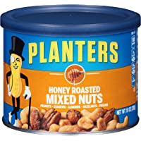 Planters Honey Roasted Mixed Nuts (10 oz Jars, Pack Of 4)