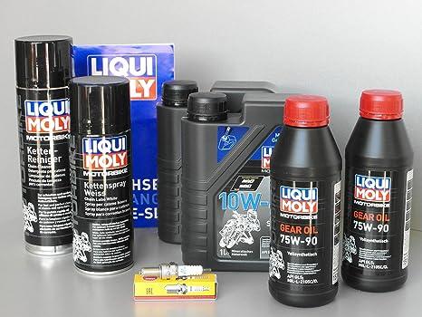 Mantenimiento – Set Quad TGB Blade 325 para inspección con aceite y Bujía