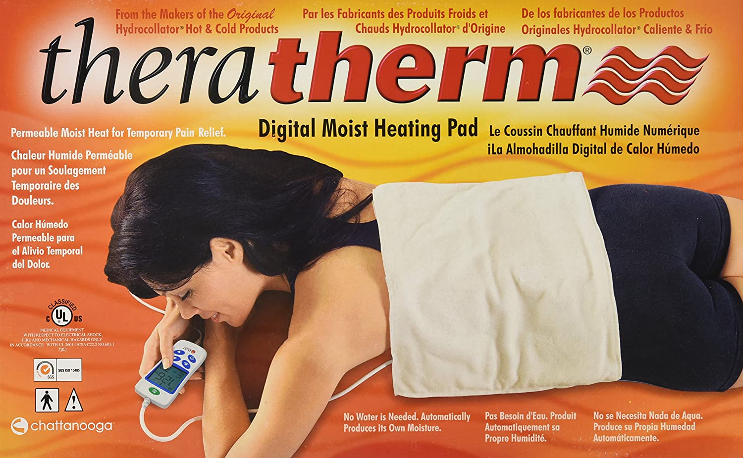 91Gj E6Ku0L._SL1500_ amazon com chattanooga theratherm digital moist heating pad chattanooga m 4 hydrocollator wiring diagram at readyjetset.co