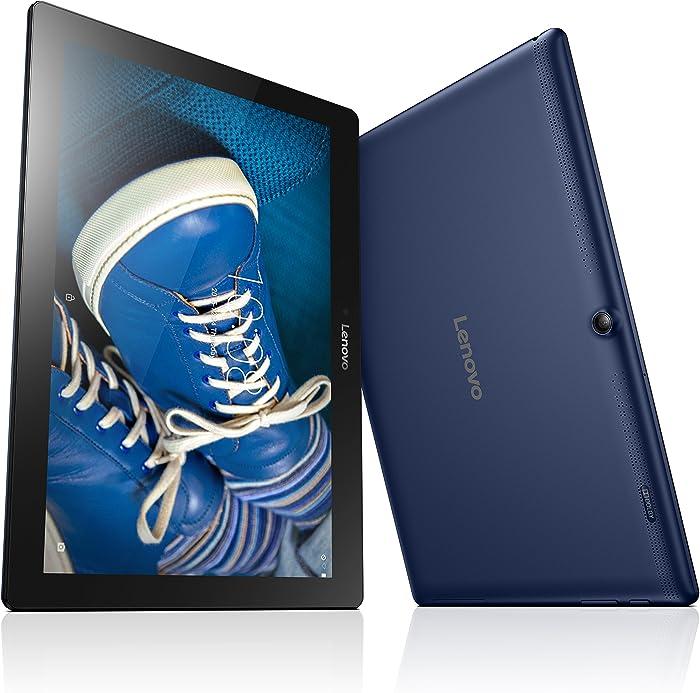 "Lenovo TAB2 A10 - 10.1"" Tablet (Qualcomm Snapdragon 210, WXGA, 1 GB SDRAM, 16 GB SSD, Android 4.4 KitKat) ZA0C0014US"