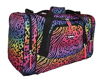 Lowcostbags Bolsa de viaje equipaje de mano bolsa de deporte para mujer