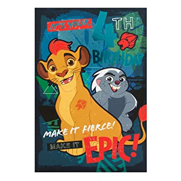 Amazon Lion King 4th Birthday Card Office Products
