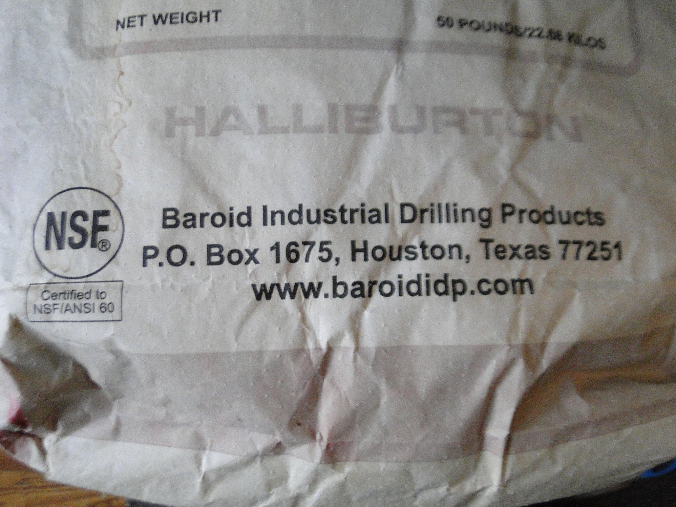 50 Pound Benseal Bentonite Drilling Mud Water Well Pond Foundation Seal Waterproof Baroid Grouting Wyoming Sodium Bentonite by baroid (Image #2)
