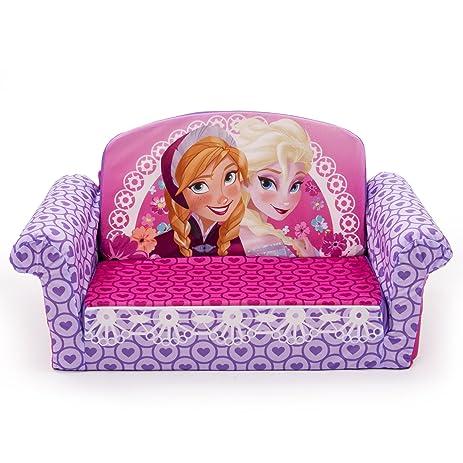 Amazoncom Marshmallow Furniture Disney Frozen Flip Open Sofa