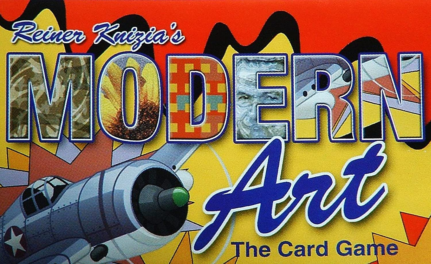 Modern Art The Card Game Gryphon Games