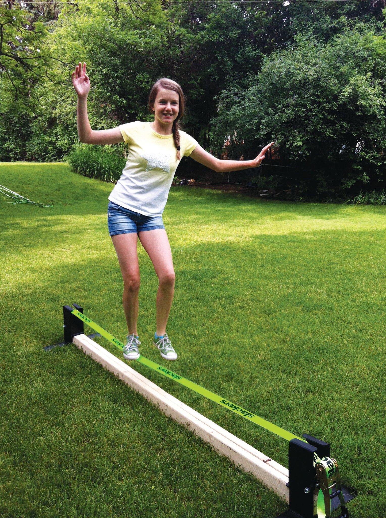 slackers Slackline Rack, 12-Feet by Slackers