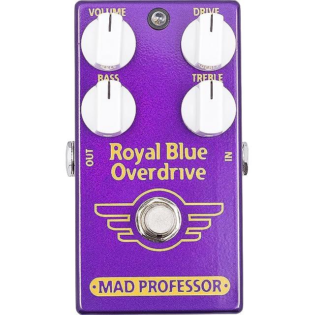 エフェクター画像 MAD PROFESSOR Royal Blue Overdrive