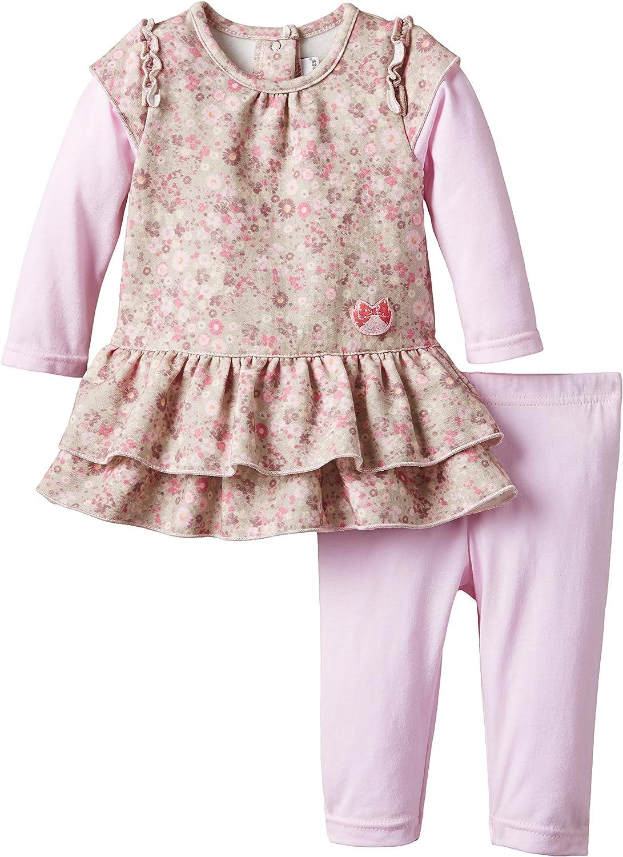 3 Pommes Pink Ropa de Bautizo para Beb/és
