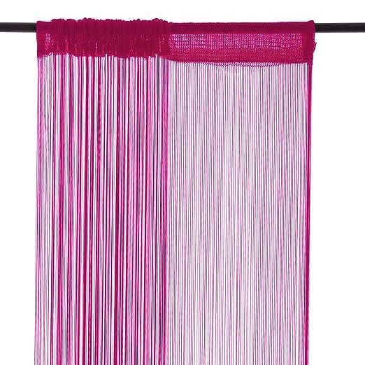 Beautiful Smartfox X Cm In Pink Fadenstore Vorhang Schal Faden Amazonde  Kche U Haushalt With Vorhang Pink With Kche Pink