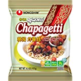 Nongshim Chapagetti Noodle Pasta, Chajang, 4.5 Ounce (Pack of 10)