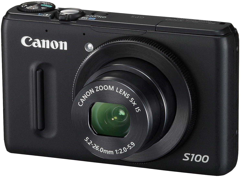 Canon デジタルカメラ PowerShot S100 ブラック 広角24mm PSS100(BK) Canon 1210万画素 広角24mm S100 光学5倍ズーム 3.0型TFT液晶カラーモニター ブラック B0065FYHBW, わんまいる:da0e74b9 --- ijpba.info