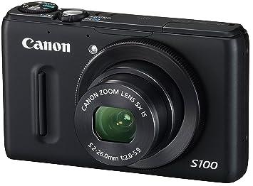 amazon canon デジタルカメラ powershot s100 ブラック pss100 bk