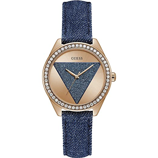 685f159f0 Women Only Time Watch Guess Tri Glitz Trendy Cod. w0884l7: Amazon.co.uk:  Watches